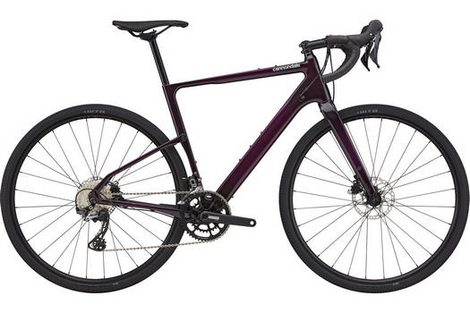 cannondale Topstone Carbon 5 purple