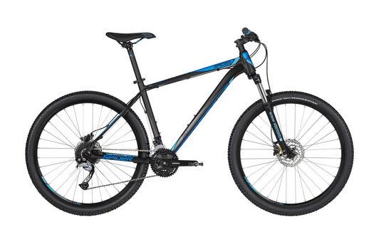 kellys SPIDER 50 27.5 black blue